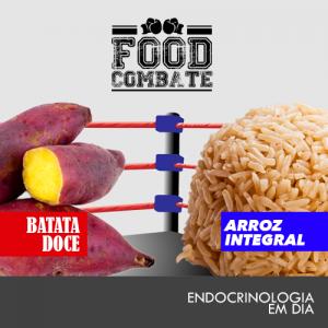batata doce x arroz integral